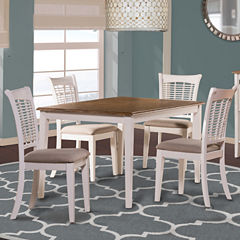 Bayberry 5-pc. Rectangular Dining Table Set