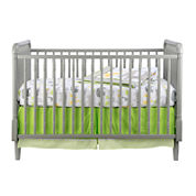 Rockland Jenny Lind Convertible Crib - Moon Grey