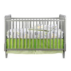 Rockland Jenny Lind Convertible Crib - Moon Grey