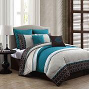 Avondale Manor Phyllis Reversible 8-pc. Comforter Set