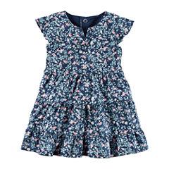 Carter's Short Sleeve Dress Set - Baby Girls