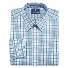 Stafford Travel Performance Super Shirt - Big and Tall Long Sleeve Dress Shirt