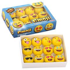 Emoji 12-pc. Golf Balls