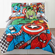 Marvel® Comics Avengers® Twin/Full Reversible Comforter + BONUS Sham