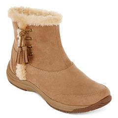 Zibu™ Lorda Faux Fur Ankle Booties