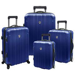 Traveler's Choice® New Luxembourg 4-pc. Expandable Hardsided Luggage Set