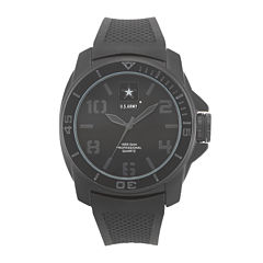 Wrist Armor® C25 Mens US Army Rubber Strap Chronograph Watch