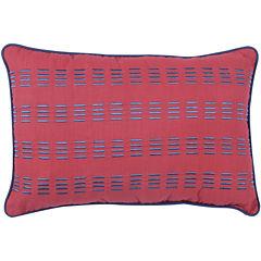 Frank and Lulu Preppy Plaid Oblong Decorative Pillow