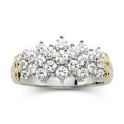 1 CT. T.W. Diamond Two-Tone 10K Gold Ring