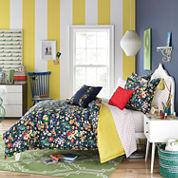 Teen Vogue Folksy Floral Comforter Set
