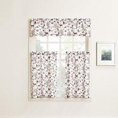Forest Friends Rod-Pocket Kitchen Curtains