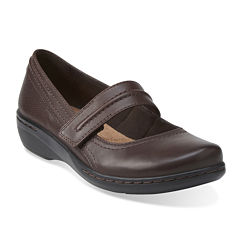 Clarks® Evianna Leather Mary Janes