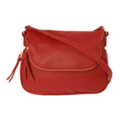 Imoshion Saddle Zip Around Bottom Crossbody Bag