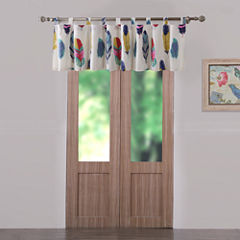 Greenland Home Fashions Dream Catcher Tab-Top Tailored Valance