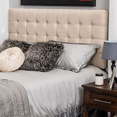 Donnelly Full/Queen Upholstered Tufted Headboard