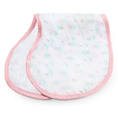 Ideal Baby Burpy Bib- Flowers