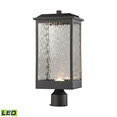 Elk Lighting Newcastle Outdoor LED Post Mount Light