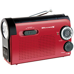 WeatherX Weatherband AM/FM Radio and Flashlight