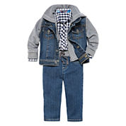 Arizona Jacket, Woven Shirt Or Jeans - Baby Boys 3m-24m