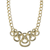 1928® Jewelry Gold-Tone Link Statement Necklace