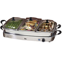 Elite Platinum EWM-9933 Triple Deluxe Buffet Server