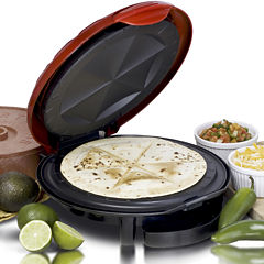 Elite Cuisine EQD-118 11-Inch Quesadilla Maker