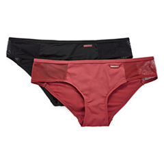 Danskin 2 Pair Knit Cheeky Panty