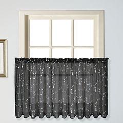 United Curtain Co Savannah Rod-Pocket Window Tiers