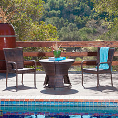 Portsmouth 3-pc. Outdoor Wicker Dining Set