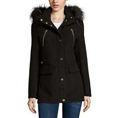 a.n.a® Fur-Trim Anorak Jacket