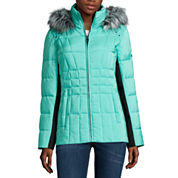 ZeroXposur® Shimmer Puffer Coat - Tall