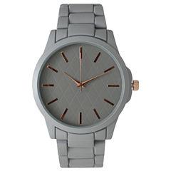 Olivia Pratt Womens Grey Bracelet Watch 14705