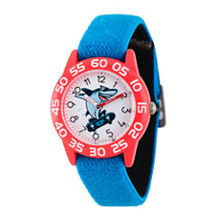 Discovery Kids® Blue and Red Shark Watch