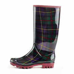 Henry Ferrera Scott Womens Water Resistant Rain Boots