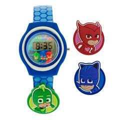 Boys Blue Strap Watch-Pjm4038jc