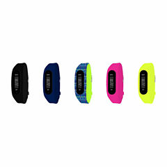 B-fit Women's Activity Tracker & 5pc. Interchangeable Band Set-Bfs2354bk659-078