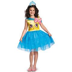 Shopkins Cupcake Queen Girls Costume - Medium (7-8)