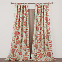 Barefoot Bungalow Eva Rod-Pocket Curtain Panel
