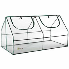 Ogrow Ultra Deluxe Compact Outdoor Seed Starter Greenhouse Cloche