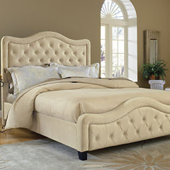 Liana Upholstered Bed with Nailhead Trim
