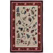 Flower Patch Washable Rectangular Rug