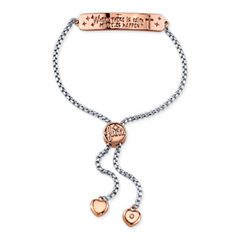 Footnotes Womens Brass Bangle Bracelet