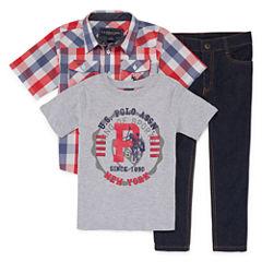 Us Polo Assn. 3-pc. Pant Set