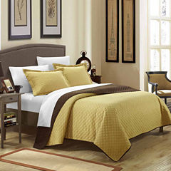 Chic Home Teresa Quilt Set