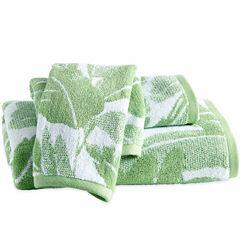 Destinations Miami Leaf Bath Towel