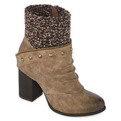 2 Lips Too Lexia Womens Bootie Wide