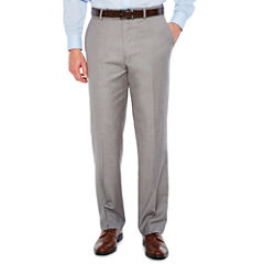 Stafford Classic Fit Flat Front Pants