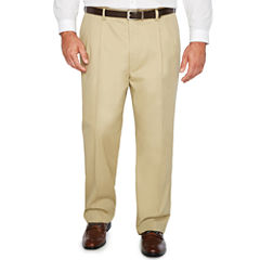 The Foundry Big & Tall Supply Co. Pleated Pants Big and Tall