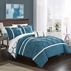 Chic Home Marcia Midweight Reversible Comforter Set