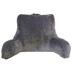 Home Expressions Belvedere Plush Solid Bed Rest Pillow